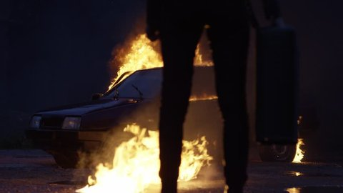arson of the car