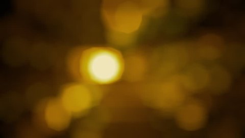Abstract Nature Bokeh Background  Sunset Stock Footage Video