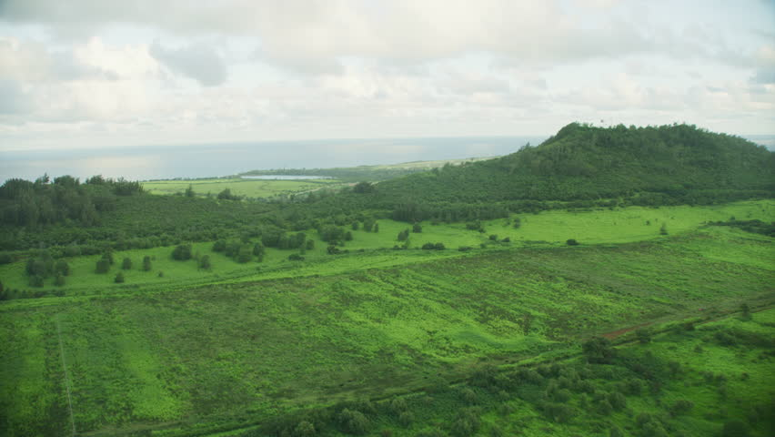 Kauai island Hawaii 4K  #1020477646