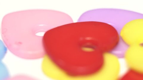 Red Blue Yellow Food Coloring Stock Footage Video (100 ...