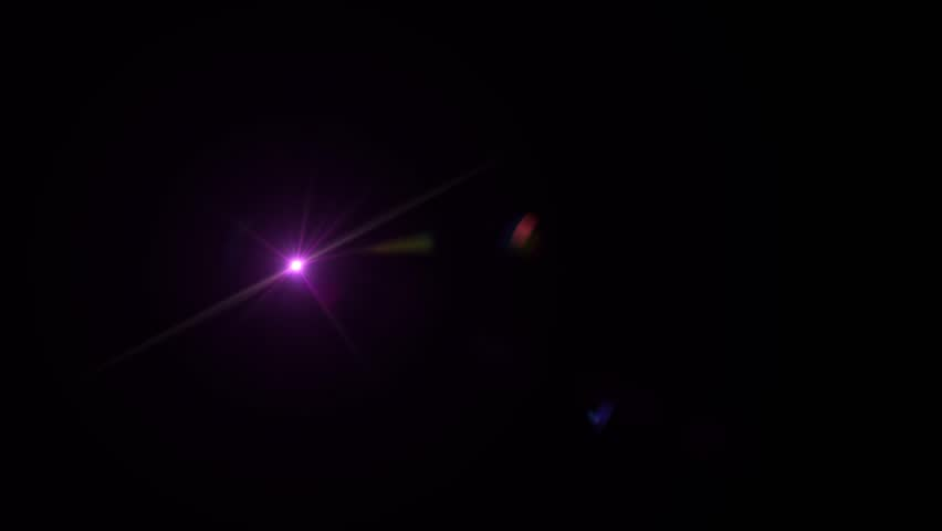 Bright Violett Lens Flare  | Shutterstock HD Video #1021233646