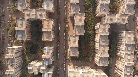 Mumbai drone aerial view