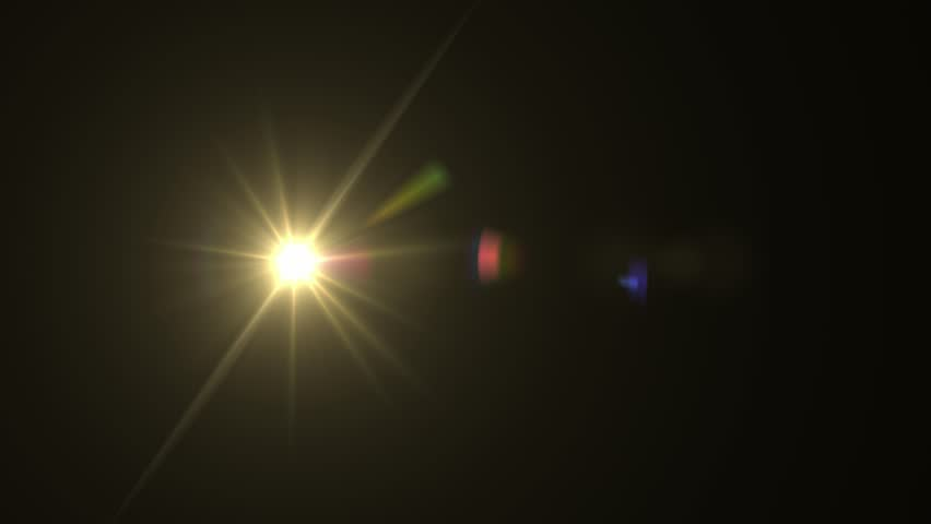 Lens flare element against black backdrop stock footage | Shutterstock HD Video #1022110186