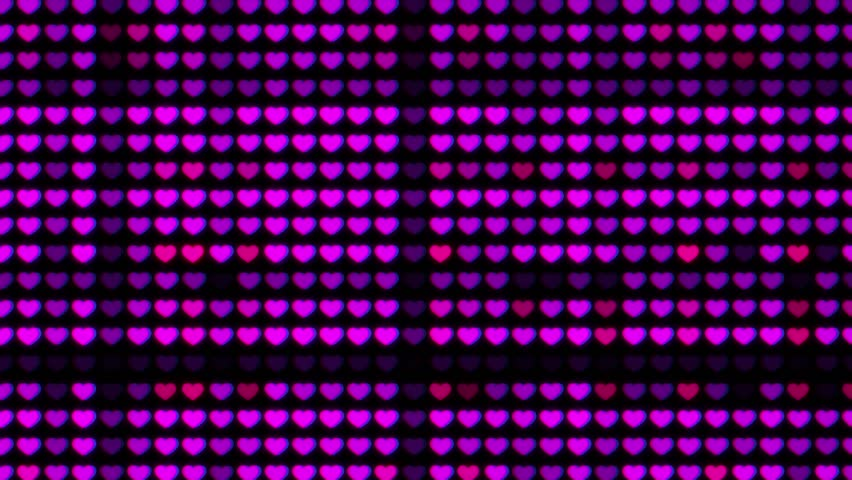 Valentine's day background, Purple hearts. St. Valentine Day greetings card, wedding invitation and birthday e-card.  | Shutterstock HD Video #1022149936