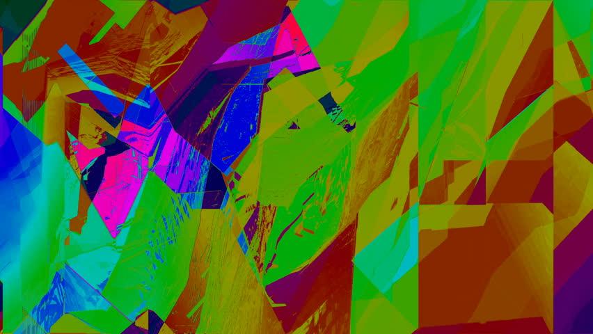 Abstract Screen Digital Pixel Sorting Noise Glitch Error Damage Background | Shutterstock HD Video #1022248516