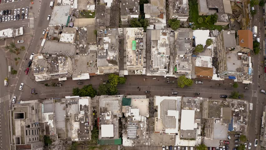 Tel Aviv south, aerial 4k | Shutterstock HD Video #1022284756