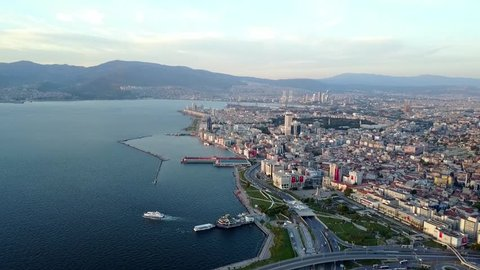 This is a video shot from TURKEY -IZMIR By a Drone