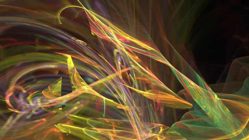 Abstract fractal forms morph and oscillate (Loop) | Shutterstock HD Video #1022640256