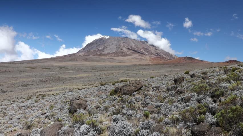 Timelapse video of kilimanjaros peak. 12.29.18