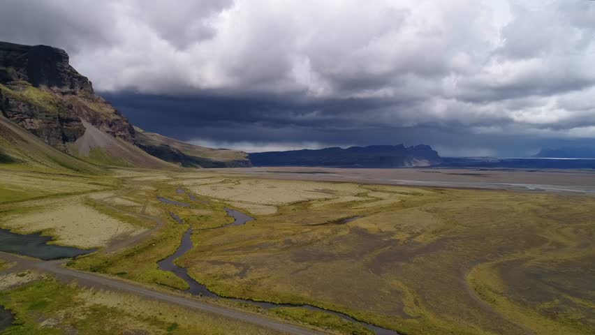 Landscapes of Iceland taken with drone | Shutterstock HD Video #1022844376