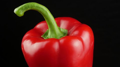 Paprika. Sweet red Bell Pepper