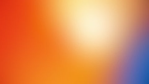 Multicolored slow motion gradient background, 4K Seamless loop abstract animation