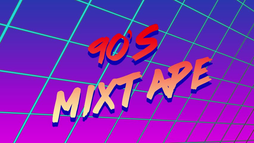 Animation of 90s Mixtape Title Stock Footage Video (100% Royalty-free)  1023435436 | Shutterstock
