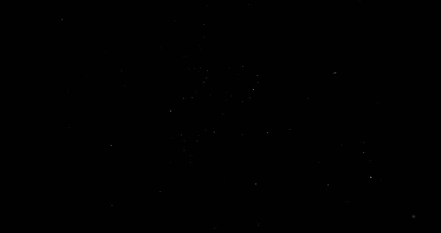Flying dust particles on a black background | Shutterstock HD Video #1023884146