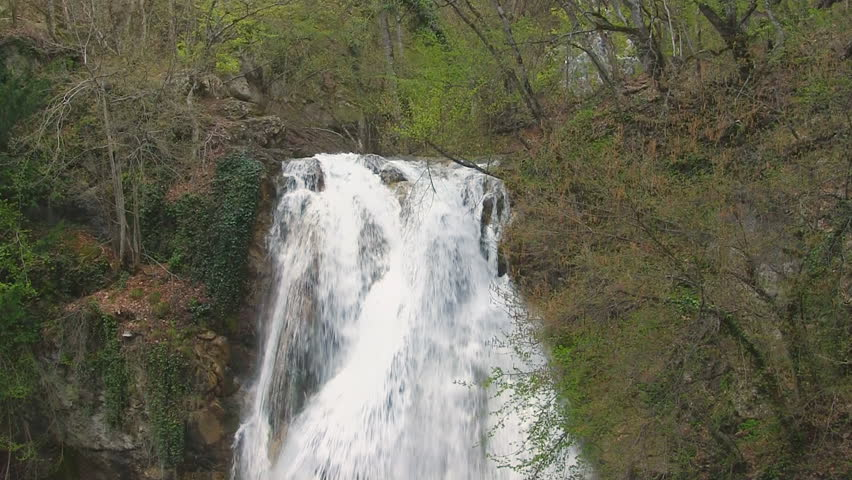 Fast mountain river, stones. | Shutterstock HD Video #10240526
