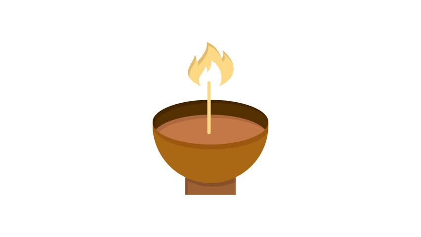 Celebrate, Deepam Line Icon Motion Stock Footage Video (100% Royalty-free)  1024087616 | Shutterstock