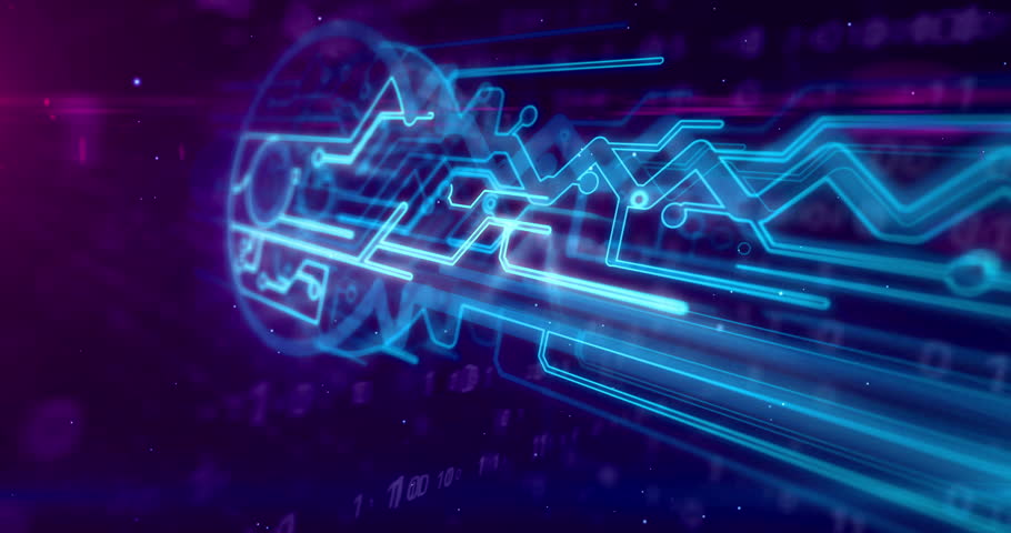 Data encryption, cyber protection and digital key sign on dynamic binary background. Computer security technology abstract concept 3D animation. | Shutterstock HD Video #1024170026