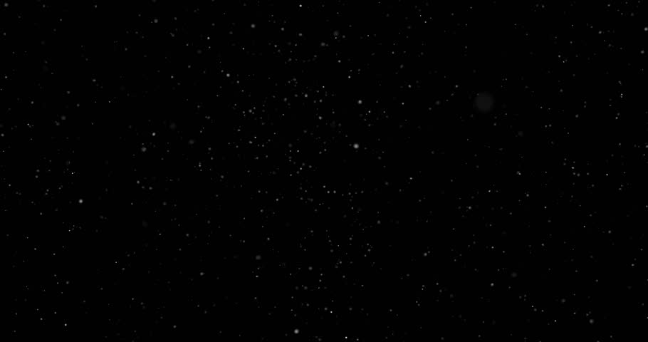 Flying dust particles on a black background #1024185326