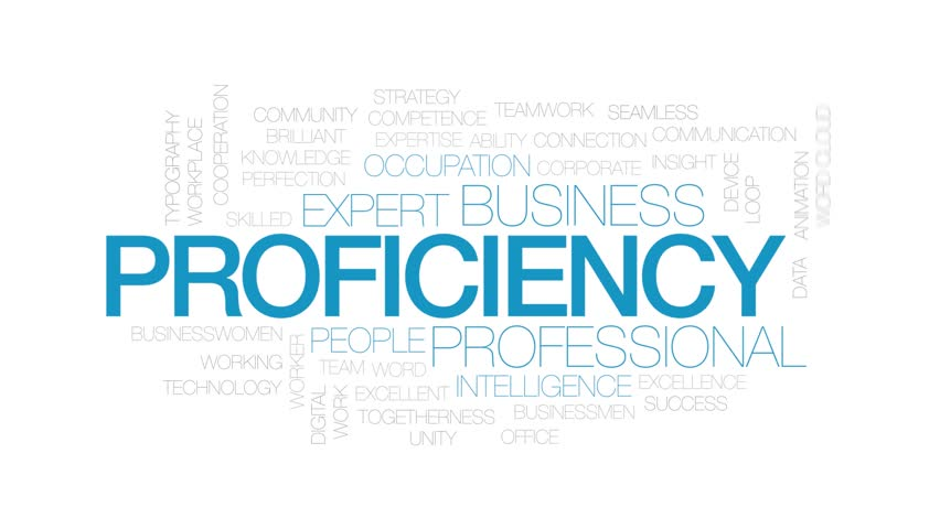 Proficiency Animated Word Cloud  Kinetic Stock Footage Video (100%  Royalty-free) 1024476476 | Shutterstock