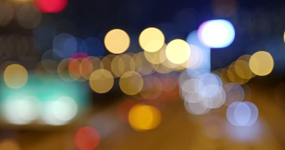 Blur of city night view | Shutterstock HD Video #1024588826