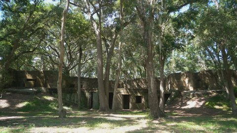 Fort Fremont on St Helena Island, is in the low lands of South Carolina. Fort Fremont is one of only two extant Spanish–American War fortifications.