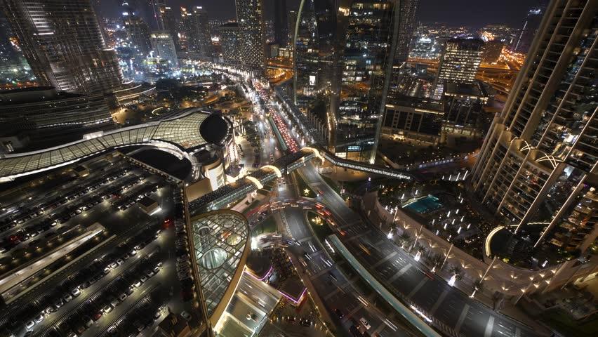 Futuristic Metropolitan Business Corporate Finance District Infrastructure | Shutterstock HD Video #1025277206