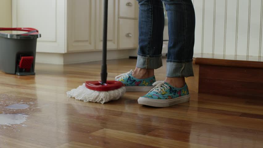mop and bucket stock footage video | shutterstock