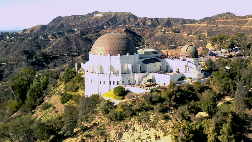 Beautiful Griffith Observatory | Shutterstock HD Video #1025876966
