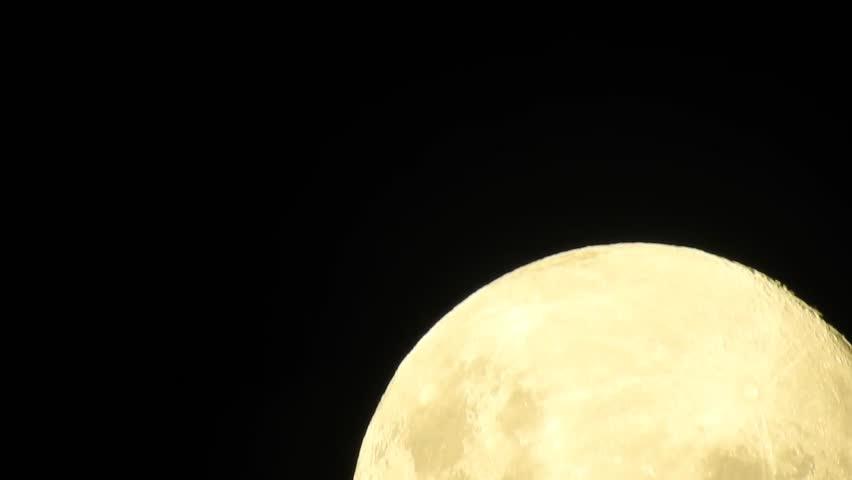 Moon rising in Santiago, Chile | Shutterstock HD Video #1026052496