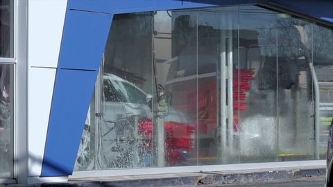 Car Wash Building Stock Video Footage - 4K and HD Video Clips