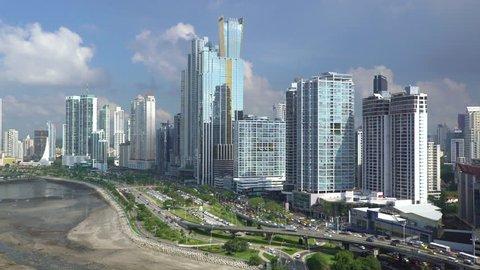 Panama City, Panama, Central America - CIRCA 2016: city skyline