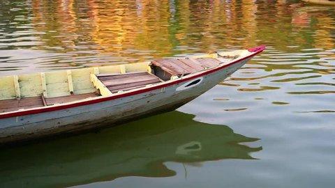 Fishing boat in Hoi An Vietnam