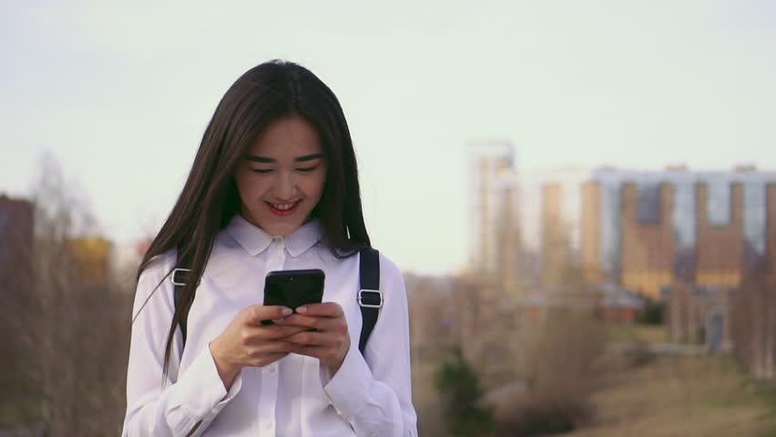 Asian girls message