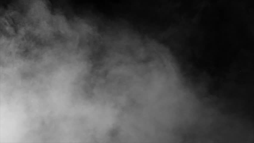 Smoke , vapor , fog - realistic smoke cloud best for using in composition, 4k, use screen mode for blending, ice smoke cloud, fire smoke, ascending vapor steam over black background - floating fog | Shutterstock HD Video #1028275436