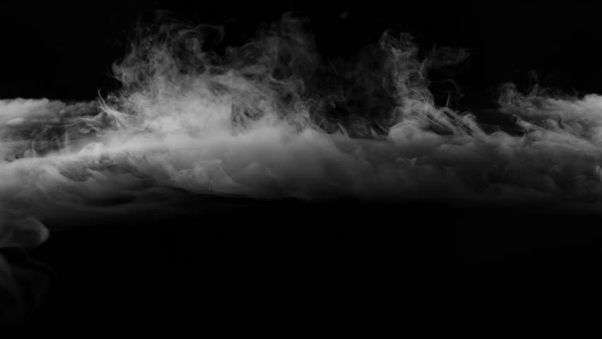 smoke , vapor , fog , Cloud - realistic smoke cloud best for using in composition, 4k, screen mode for blending, ice smoke cloud, fire smoke, ascending vapor steam over black background - floating fog #1028275586