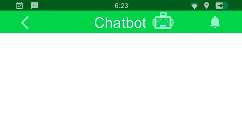 Chatbot talking to a user. Messaging app animation with text bubbles simulating a real chat between users.