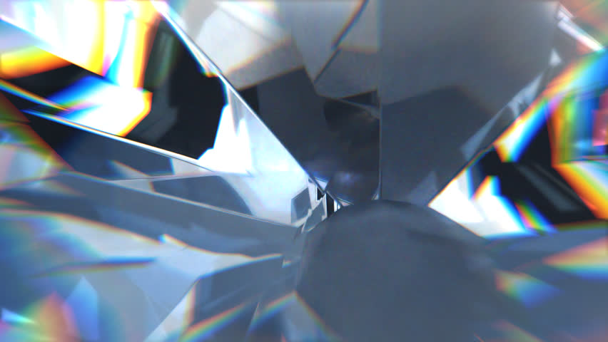 Close-up view on shiny rotating diamond.   Shutterstock HD Video #1028677676