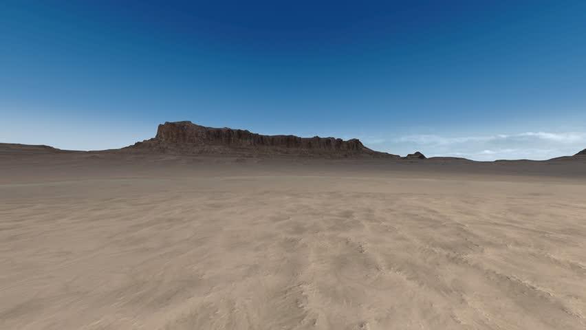 3D CG rendering of wilderness | Shutterstock HD Video #1028892356