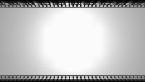 4K Film Strip Spotlight Matte Motion Background