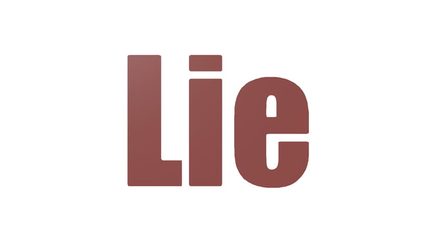 Lie Animated Looping Wordcloud Isolated | Shutterstock HD Video #1029063866