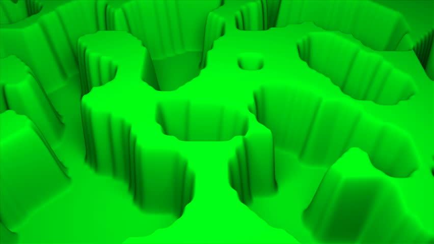 Simple terrain modern 3d surface model, 3d rendering backdrop, computer generating background | Shutterstock HD Video #1029068036