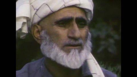 CIRCA 1983 - The Siege of Kabul in 1983