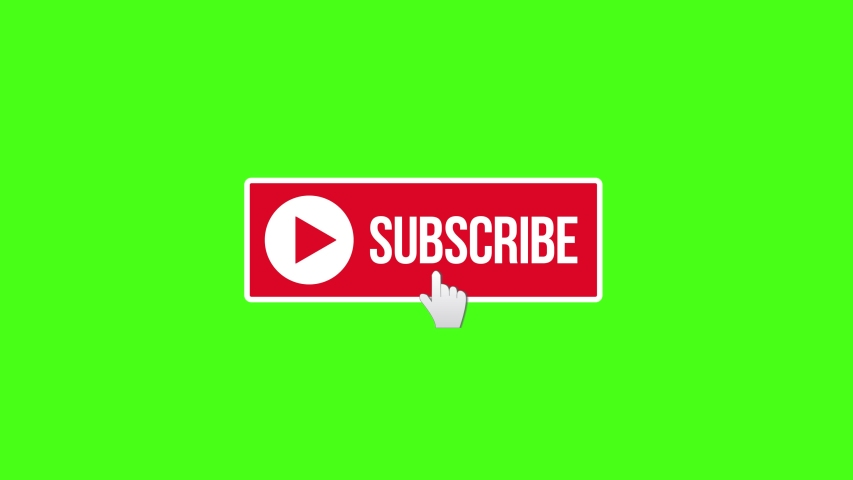 Animation of a Subscribe Button. Choose your favourite Subscribe Button Animation and simply place it into your Videos. Button of subscribers to click and become subscribed - Animation render | Shutterstock HD Video #1030003256
