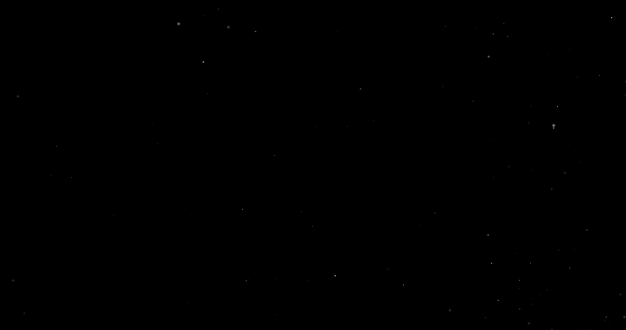 Flying dust particles on a black background | Shutterstock HD Video #1030484666