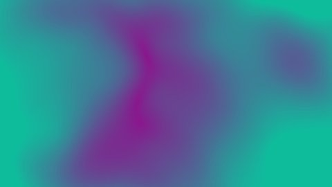 This looping stock animation video shows a purple and green gradient (Alien World Concept-2C) abstract fluid background with visual illusion and seamless loop effect.