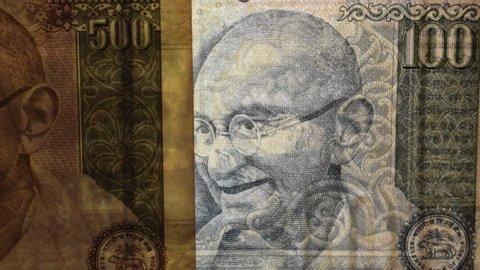 Mahatma Gandhi on the Indian rupee june 2019