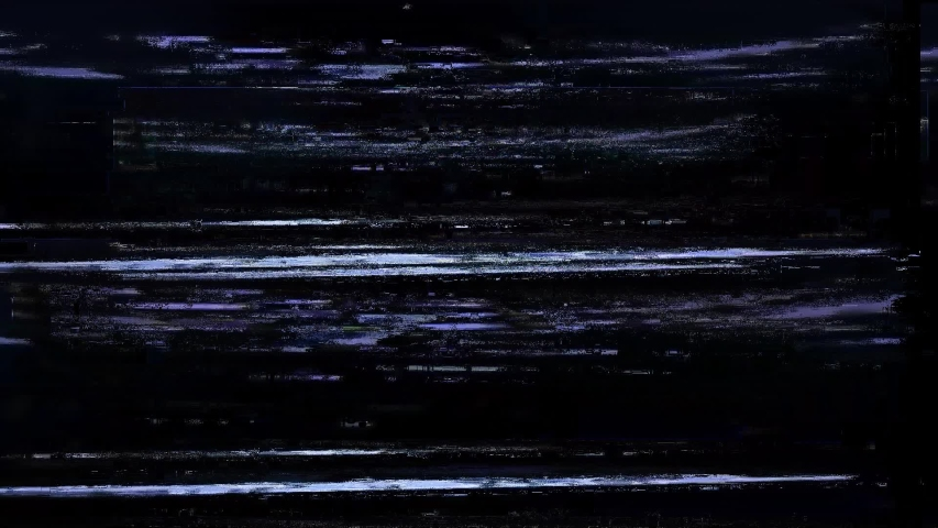 Noise Glitch Tv Bad Signal Effect Bee Computer Generated Motion graphic Background animation   Shutterstock HD Video #1031238056