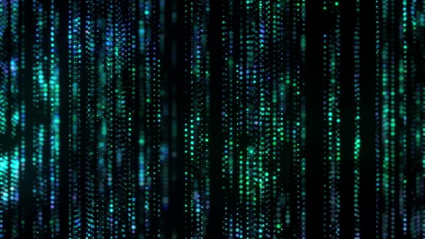4K Flow of digital information. Global connection concept. Technology motion background.  Big data visualization. Blockchain. | Shutterstock HD Video #1031322026