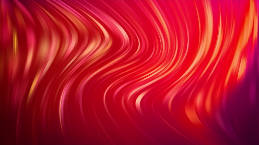 Light Red Bent Lines. Colorful geometric sample with gradient lines. The best colorful design   Shutterstock HD Video #1031961566