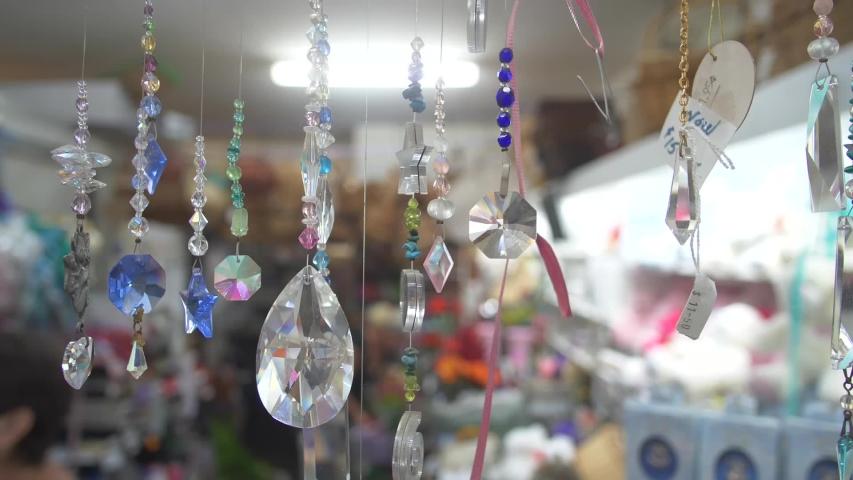 Beautiful ornaments in a shop   Shutterstock HD Video #1032210266